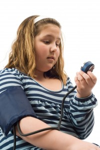 Is teenage obesity and high blood pressure already an epidemic in teens?